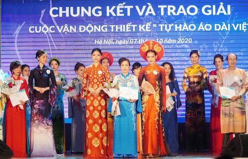 """Trao giải Cuộc vận động thiết kế """"Tự hào áo dài Việt Nam"""" - ảnh 1"""