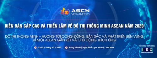 Diễn đàn cấp cao về Đô thị thông minh ASEAN 2020 - ảnh 1