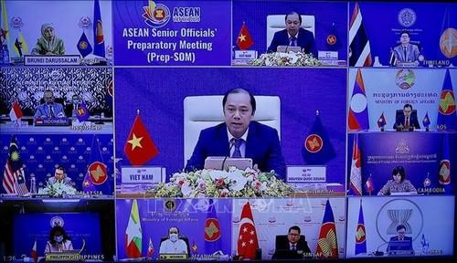 Quan chức cao cấp ASEAN họp trù bị cho Hội nghị cấp cao ASEAN 37 - ảnh 1