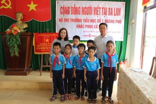 Cộng đồng người Việt ở Ba Lan đến với những ngôi trường ở vùng lũ - ảnh 1