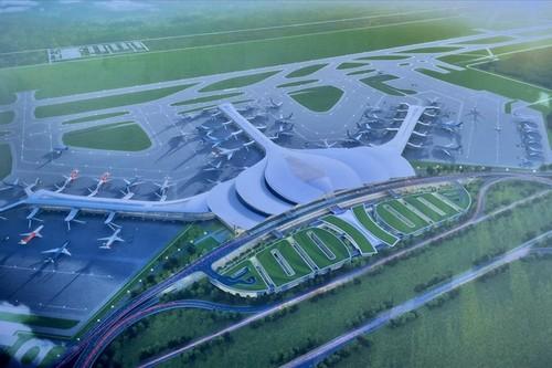 Khởi công Cảng hàng không quốc tế Long Thành giai đoạn 1 - ảnh 1