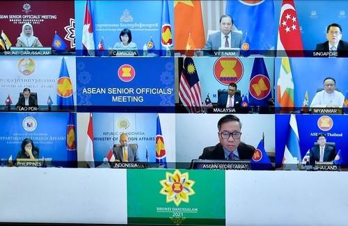ASEAN duy trì đoàn kết, cam kết đóng góp cho hòa bình, ổn định tại Biển Đông và trong khu vực - ảnh 1