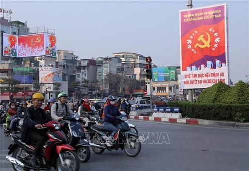 Đại hội XIII của Đảng: Báo The Sunday Times đánh giá Việt Nam tổ chức sự kiện trọng đại trong điều kiện thuận lợi - ảnh 1