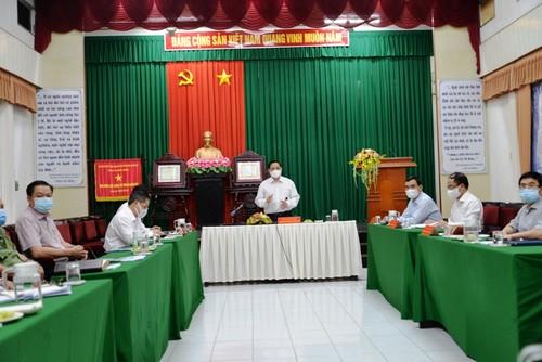 Thủ tướng Phạm Minh Chính: Huy động trí tuệ của tập thể, sự vào cuộc của nhân dân trong công tác phòng, chống dịch - ảnh 1