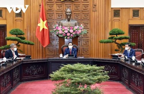 Thủ tướng Phạm Minh Chính tiếp Chủ tịch Hội nghị COP-26 - ảnh 1