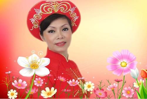 Soạn giả Hoàng Thị Dư và những bài dân ca chống dịch - ảnh 1