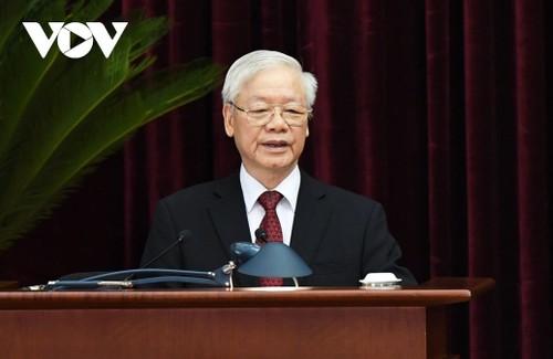 Tổng Bí thư ra lời kêu gọi đồng bào, chiến sĩ cả nước và đồng bào VN ở nước ngoài đồng lòng phòng chống đại dịch - ảnh 1