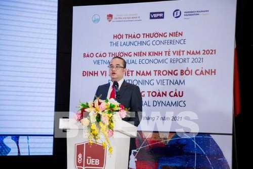 Công bố Báo cáo thường niên kinh tế Việt Nam 2021 - ảnh 1