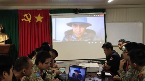 Bệnh viện dã chiến Việt Nam và Ấn Độ tập huấn chuyên môn trực tuyến - ảnh 2