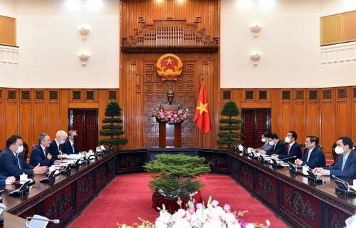 Thủ tướng Phạm Minh Chính tiếp Phó Tổng thống, Bộ trưởng Ngoại giao Liên bang Thụy Sỹ Ignazio Cassis - ảnh 2