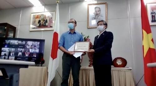 Gần 1,6 tỷ đồng của bạn bè quốc tế và cộng đồng Việt ở Fukuoka, Nhật Bản ủng hộ Quỹ vaccine phòng chống covid 19 của VN - ảnh 2