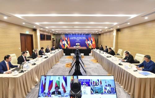 Vietnam proposes accelerating trade, transport between 5 Mekong countries  - ảnh 1