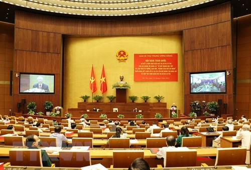 Party General Secretary Nguyen Phu Trong's speech on 5-year implementation of  Directive No.5 - ảnh 2