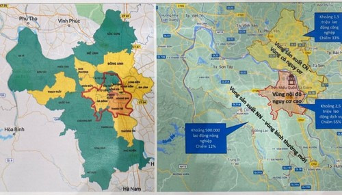 Hanoi to be divided into three zones for social distancing classification  - ảnh 1