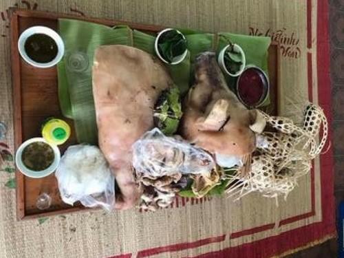 越南西北地区泰族同胞的人文习俗——试婚 - ảnh 1