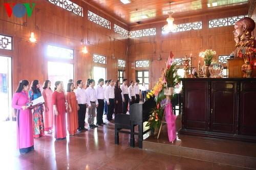 Дом, в котором Президент Хо Ши Мин провел свое отрочество - ảnh 16
