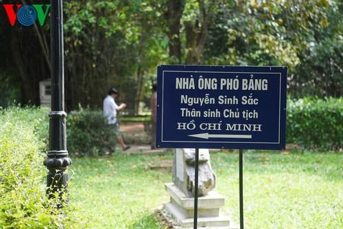 Дом, в котором Президент Хо Ши Мин провел свое отрочество - ảnh 2