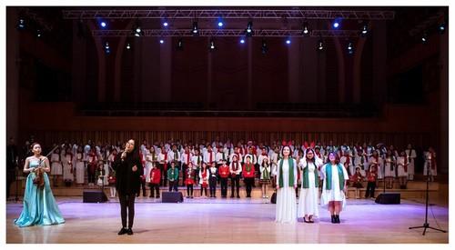 Хоровой концерт «Зеленое Рождество» - ảnh 4