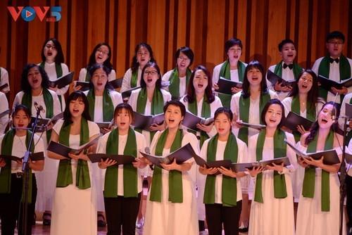 Хоровой концерт «Зеленое Рождество» - ảnh 9