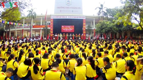 22 million students start new school year - ảnh 12