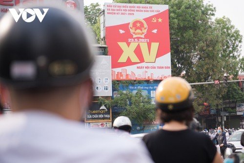 Hanoi ready for National Assembly election day - ảnh 10