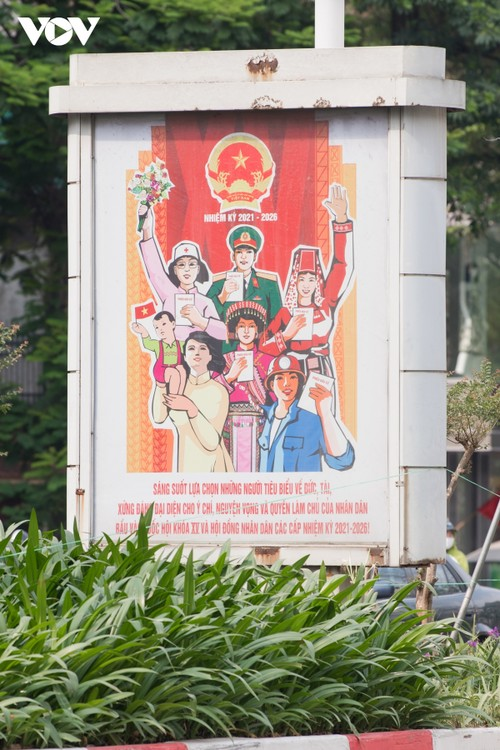 Hanoi ready for National Assembly election day - ảnh 3