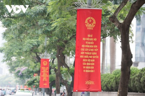Hanoi ready for National Assembly election day - ảnh 4