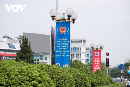 Hanoi ready for National Assembly election day - ảnh 5