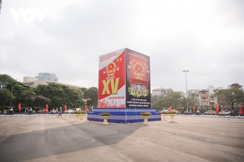 Hanoi ready for National Assembly election day - ảnh 6