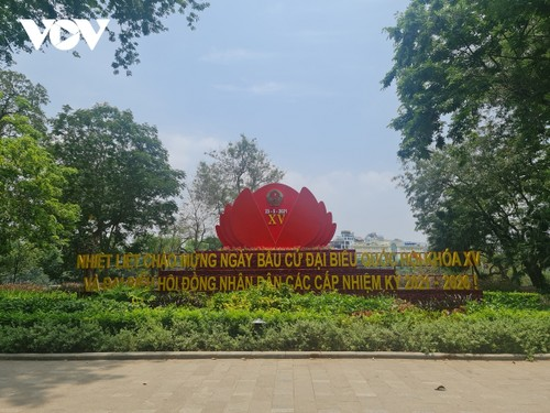 Hanoi ready for National Assembly election day - ảnh 7
