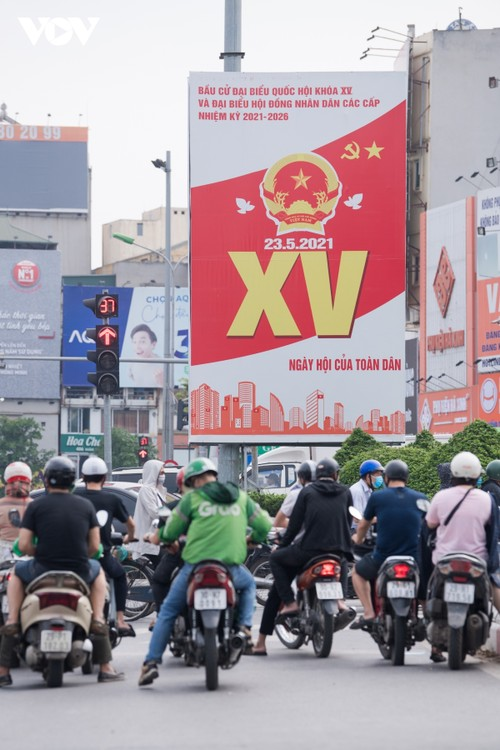 Hanoi ready for National Assembly election day - ảnh 8