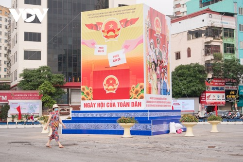 Hanoi ready for National Assembly election day - ảnh 9
