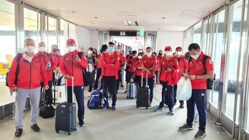 Đoàn Thể thao Việt Nam đã đến Nhật Bản tham dự Olympic Tokyo 2020 - ảnh 2