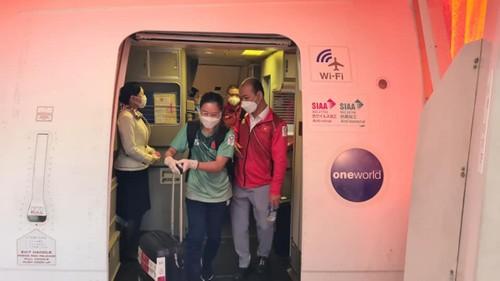 Đoàn Thể thao Việt Nam đã đến Nhật Bản tham dự Olympic Tokyo 2020 - ảnh 3