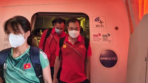 Đoàn Thể thao Việt Nam đã đến Nhật Bản tham dự Olympic Tokyo 2020 - ảnh 4
