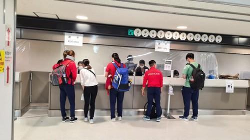 Đoàn Thể thao Việt Nam đã đến Nhật Bản tham dự Olympic Tokyo 2020 - ảnh 6