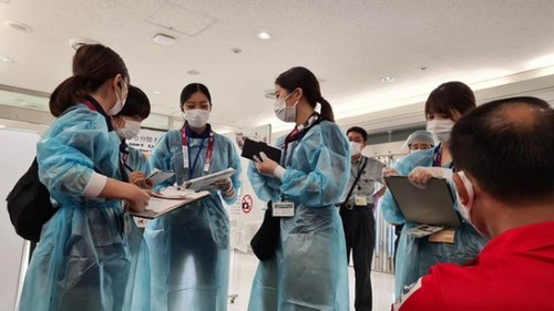 Vietnamese athletes arrive in Japan for 2020 Tokyo Olympics - ảnh 3
