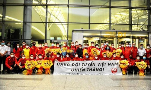 Vietnamese athletes arrive in Japan for 2020 Tokyo Olympics - ảnh 7