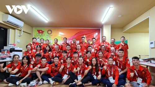 Vietnamese athletes participate in training ahead of Tokyo Olympics - ảnh 1