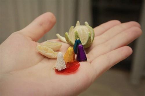 Unique tiny trays celebrate Mid-Autumn Festival  - ảnh 5