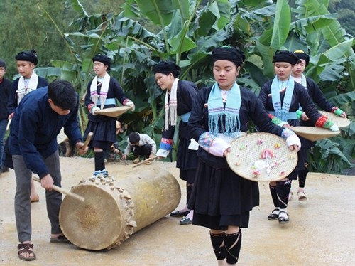 New Year celebrations of Giay ethnic people in Ha Giang province - ảnh 4