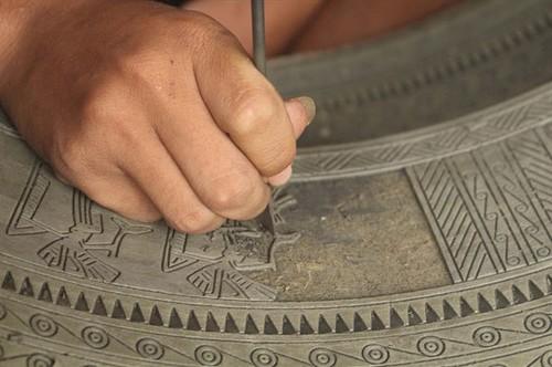Tra Dong bronze casting village - ảnh 1
