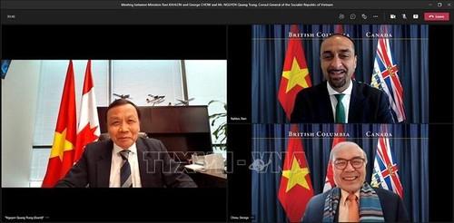 Vietnam and Canada's British Columbia boost cooperation  - ảnh 1