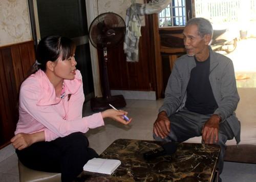 Dak Lak's village chief dedicated to social work  - ảnh 1
