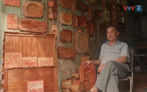 Mooncake mold making craft preserved  - ảnh 1