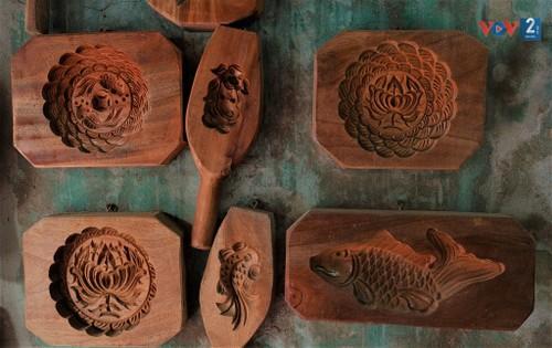 Mooncake mold making craft preserved  - ảnh 2