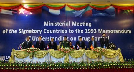 Các nước tiểu vùng sông Mekong tăng cường hợp tác phòng, chống ma túy - ảnh 1