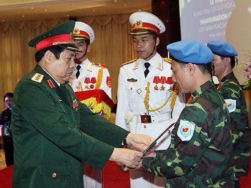 Triển khai đề án Việt Nam tham gia hoạt động Gìn giữ hòa bình Liên Hiệp Quốc  - ảnh 1