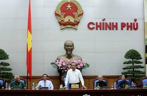 Phó Thủ tướng Trương Hòa Bình tiếp đoàn đại biểu người có công với cách mạng tỉnh Cà Mau - ảnh 1