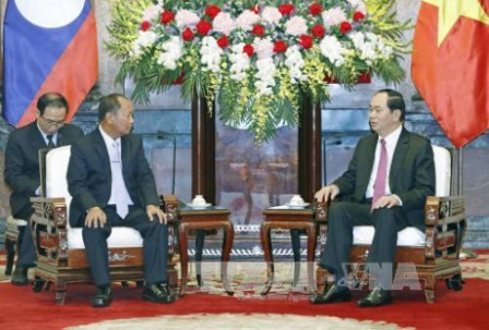 Tăng cường hợp tác giữa lực lượng công an Việt Nam và Lào - ảnh 1